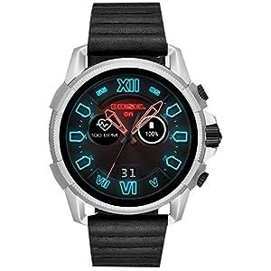 Diesel Herren-Smartwatch mit Leder Armband DZT2008