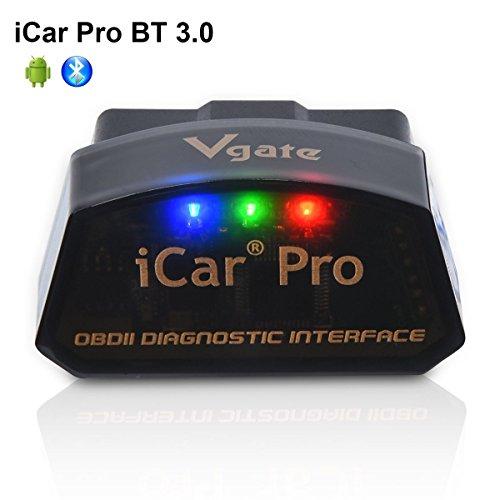 Vgate iCar Pro Bluetooth 3.0 OBD2 OBDII Scanner Scan Tool Auto Fehler Check Engine Licht für Drehmoment Android Kompatibel mit ELM327 Adapter