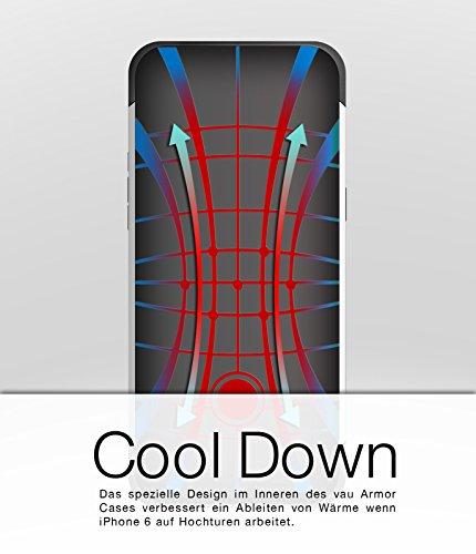 vau iPhone 6 Slim Armor - Vacant White - Hülle, Case für Apple iPhone 6 Virgin Rose