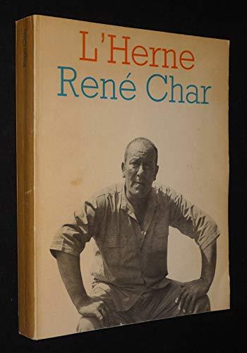L'Herne : René Char