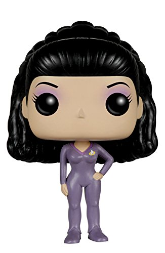 Funko - Pop! TV: Star Trek: The Next Generation - Deanna TROI Figura