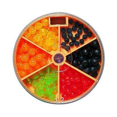 Preisvergleich Produktbild STMK Gummi-Kunstoff-Perlen bunt Sortiert