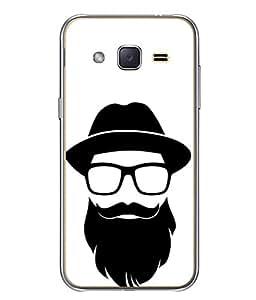 Snapdilla Designer Back Case Cover for Samsung Galaxy J2 J200G (2015) :: Samsung Galaxy J2 Duos (2015) :: Samsung Galaxy J2 J200F J200Y J200H J200Gu (Comic Character Fashion White Background Wallpaper)