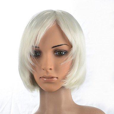 HJL-2015 femmes mode naturel ondul¨¦ japonais cheveux synth¨¦tiques r¨¦sistant ¨¤ la chaleur, M18019 perruque-#80 12\\