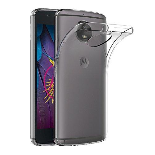 Funda Moto G5S, AICEK Transparente Silicona Fundas para Motorola Moto G5S Carcasa Silicona Funda Case (5.2')