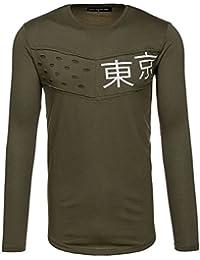BOLF – Longsleeve – Sweat-shirt – U-neck – Pull de sport – Homme - BREEZY 286