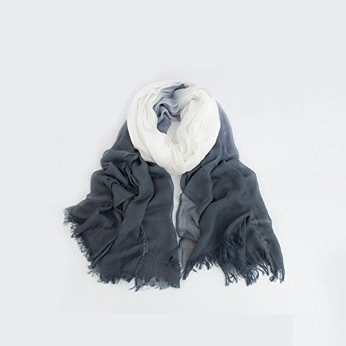 YYH Modale Ms Herbst/Winter Ombre Schal/Tücher Schals aus weicher Baumwolle . 8 (Ombre-streifen-schals)