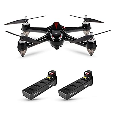 Goolsky MJX B2W Bugs 2W 2.4G 6-Axis Gyro Brushless Motor Independent ESC 1080P Camera Wifi FPV Drone GPS RC Quadcopter w/Two Batteries from Goolsky