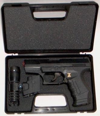 Preisvergleich Produktbild Wicke Walther P99 Amorcespistole mit Zielvorrichtung im Koffer