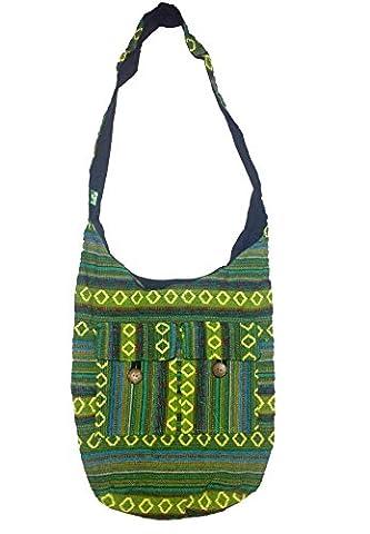 Kesrie , Sac pour femme à porter à l'épaule - vert - Standard