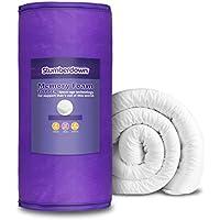 Cobertor de espuma de memoria, 150 x 200 cm, Blanco, matrimonio