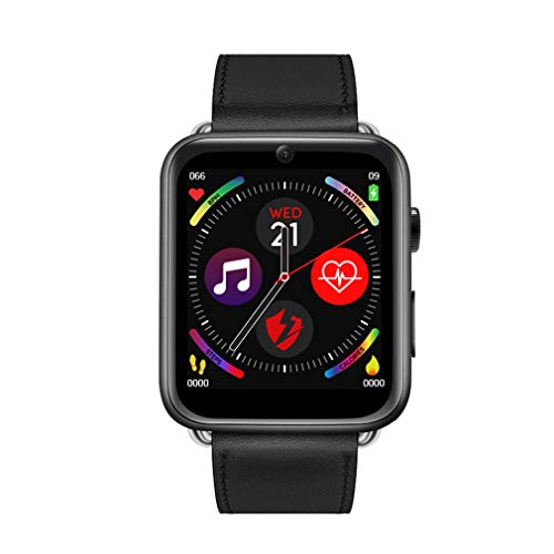 ANZQHUWAI 4G Smart Watch Android 7.1 1.82 Zoll Big Screen 3GB + 32GB SIM Kamera 700mAh Batterie-intelligente Uhr Männer Frauen,2,1GB+16GB
