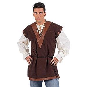 Limit Sport - Camisa y chaleco medieval, talla M (NC012)