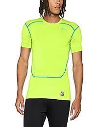 Nike Pro Combat Core 2.0 Compression, Camiseta de fitness Para Hombre, (Blue/