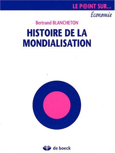 Histoire de la mondialisation