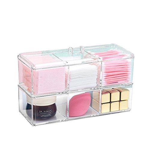 acrlico-organizador-de-maquillaje-2-niveles-apilable-de-bandeja-con-tapa-multifuncional-choice-fun
