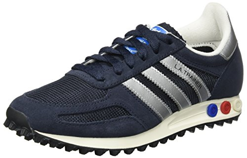 Adidas la trainer og, scarpe da ginnastica basse uomo, blu (legend ink/matte silver/night navy), 40 eu