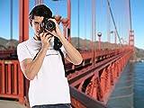 PROWITHLIN Kamera Gurt - Schultergurt mit Sicherheits Tether Montageplatte für Kamera DSLR SLR (Canon Nikon Sony Olympus Pentax, etc.) Vergleich