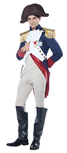Kostüm Napoleon Hut - California Costumes General Napoleon für Herren L