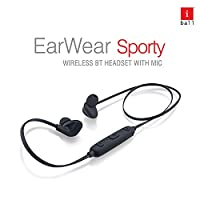 It's now time to say a proper bye to the 3.5 mm jack. iBall EarWear Sporty is here with a wireless future at your doorstep. Bluetooth edition 4.1 enabled earphones have the potential to take your activities to the next level. Whenever on-the-go, don'...
