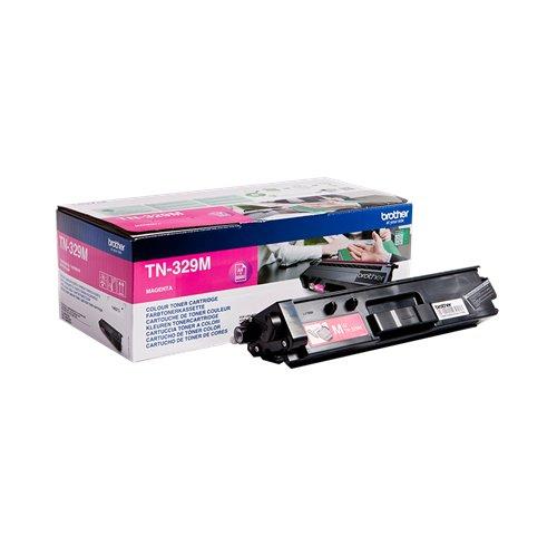 Preisvergleich Produktbild Brother Original Super-Jumbo-Tonerkassette TN-329M magenta (für Brother HL-L8350CDW, DCP-L8450CDW, MFC-L8850CDW)