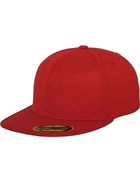 Flexfit Mütze Premium 210 Fitted (stlye 6210), Gorra de náutica, Rojo (Red), L/XL