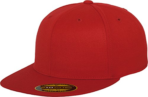 Urban Classics Premium 210 Fitted Red, Red, S/M