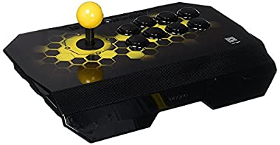 Qanba Drone Joystick for PlayStation 4 and PlayStation 3 and PC (Fighting Stick) Officially Licensed Sony Product by Qanba