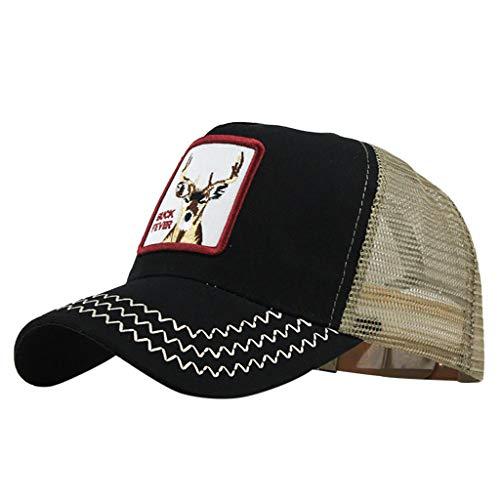 Imagen de ❤rytejfes  beisbol casual pescador sombrero sombrero de sol visera plegable camuflaje animal de bordado upf 50+ ajustable malla transpirable anti uv para aire libre viaje selva exterior alternativa