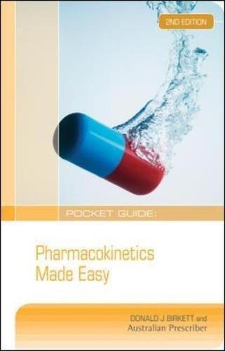 Pocket Guide: Pharmacokinetics Made Easy (Australia Healthcare Medical Medical) por Donald J. Birkett