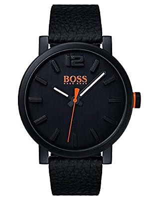 Hugo Boss Orange Mens Analogue Classic Quartz Watch with Leather Strap 1550038