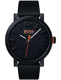 5ad8be724d46 Hugo Boss Orange Homme Analogique Classique Quartz Montres bracelet avec  bracelet en Cuir - 1550038