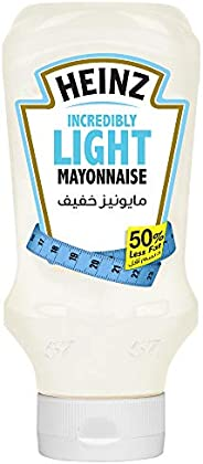 Heinz™ Mayonnaise, Incredibly Light, Top Down Squeezy Bottle, 400ml