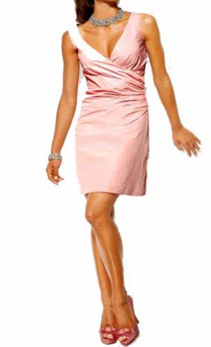 Heine Damen-Kleid Taft-Abendkleid Rosa Rosé