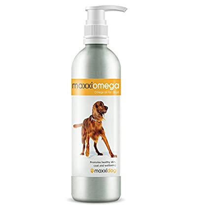 maxxipaws maxxiomega Oil for Dogs - Tasty Omega Supplement for Healthy Skin and Shiny Coat – Easy to Use Pump – Liquid… 3
