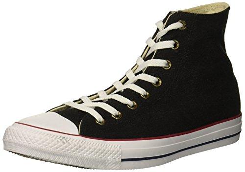 Converse Unisex-Erwachsene Chuck Taylor CTAS Hi Sneakers, Mehrfarbig (Black/White/Brown 001), 46 EU