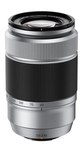 Fujifilm XC50-230 - Objetivo para cámaras X-Pro1 y X-E1 (distancia focal 50-230mm, f/4.5-6.7), color plateado