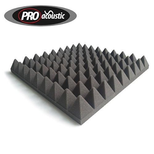 24x-afp305-pro-acoustic-foam-pyramid-tiles-studio-sound-treatment-223m2-24-ft2-per-pack