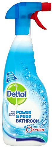 Dettol Power And Pure Bathroom Cleaning Wipes (750ML)