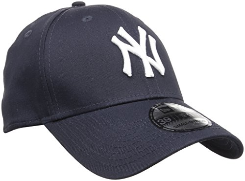 New Era Herren Baseball Cap Mütze M/LB Basic NY Yankees 39Thirty Stretch Back, Navy/...