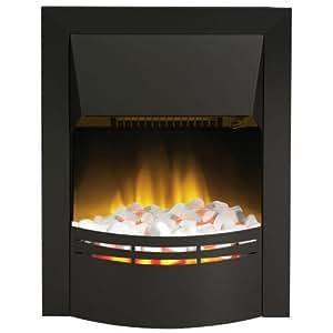 Dimplex Dakota Contemporary Inset Electric Fire 2 Kw Black Kitchen Home