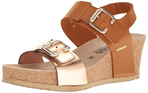MEPHISTO P5121990 Sandale Mann Camel