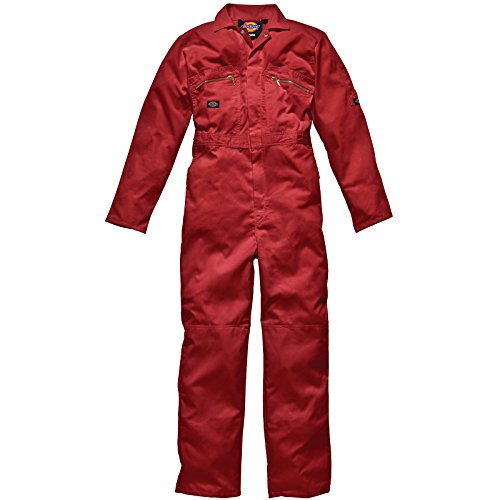 Dickies lavoro Overall rosso Rot 96cm x Lang