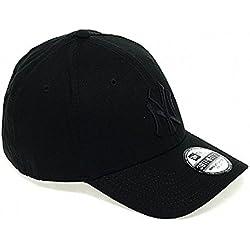 New Era NY Yankees 39 Thirty - Gorra para hombre, color negro (black/ black), talla S/M