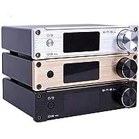"""Generic SMSL Q5 Pro 45Wx2 HiFi 2.0 Pure Amplificador de potencia de audio digital 24bit / 96kHz USB DAC/Ã""""ptico/Coaxial con control remoto"""