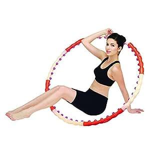 """Health Hula Hula Hoop """"Magnetic"""" 107 cm 1,2 Kg Orange/beige"""