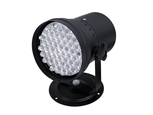 Proyector LED RGB, 230 V, 8 W, 55 LEDs de colores, 35°, negro - Luz led / Reflector original- showking