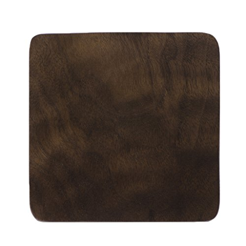 ZOOMY Tasse Matte Vintage Durable Holz Getränke Untersetzer Anti-Rutsch-Tasse Becher Mat Tisch...