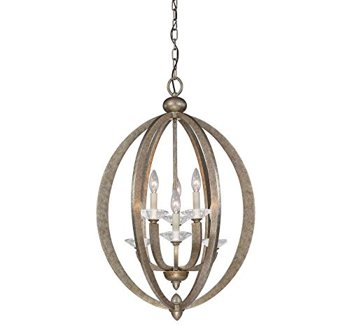 Savoy House 3-1553-6-122 Pendant with No Shades, Gold Dust Finish by Savoy House