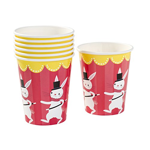 Talking Tables Magic Party Paper Cups for Birthday, Children's, Kids and Party Celebrations, Multicolour (12 Pack)